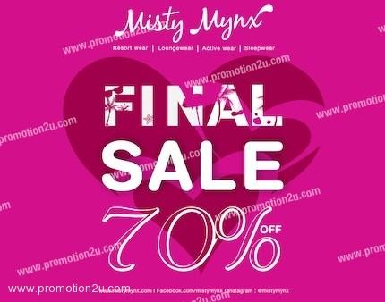โปรโมชั่น Misty Minx Final Sale ลด 70% (มีค.56)