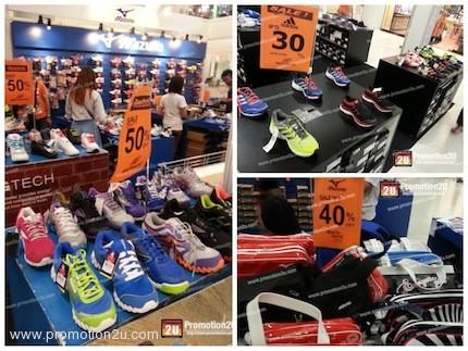 โปรโมชั่น SportsWorld Shoes Sale ที่ MEGA Bangna (เมย.56)