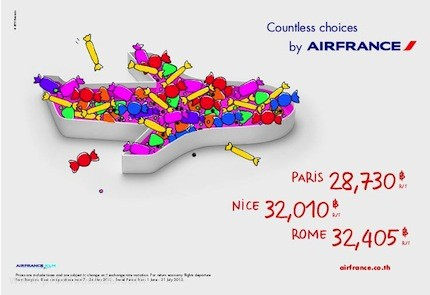 Promotion Air France Countless ChoicesFly Europe Started 28,730.- [May.2013]