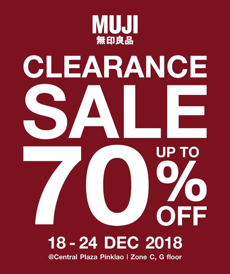 promotion muji clearance sale up to 70 off dec 2018. Black Bedroom Furniture Sets. Home Design Ideas