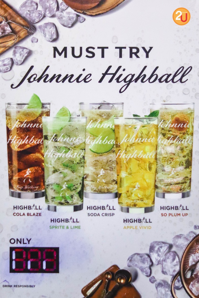 Promotion Johnnie Highball Free Flow at myst P0006