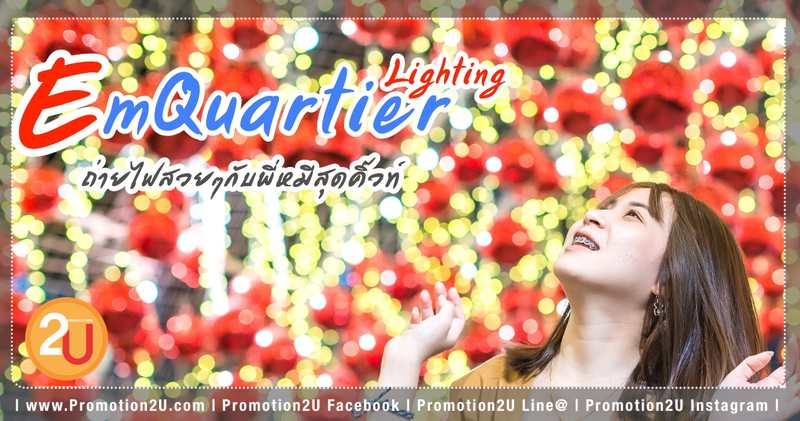 The EmQuartier Polar Bear Lighting Festival Cover