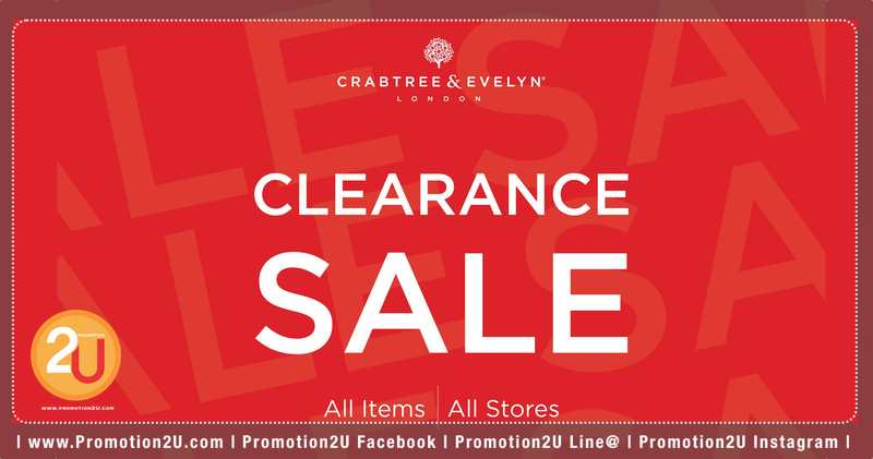 Promotion Crabtree  Evelyn Clearance Sale 2019