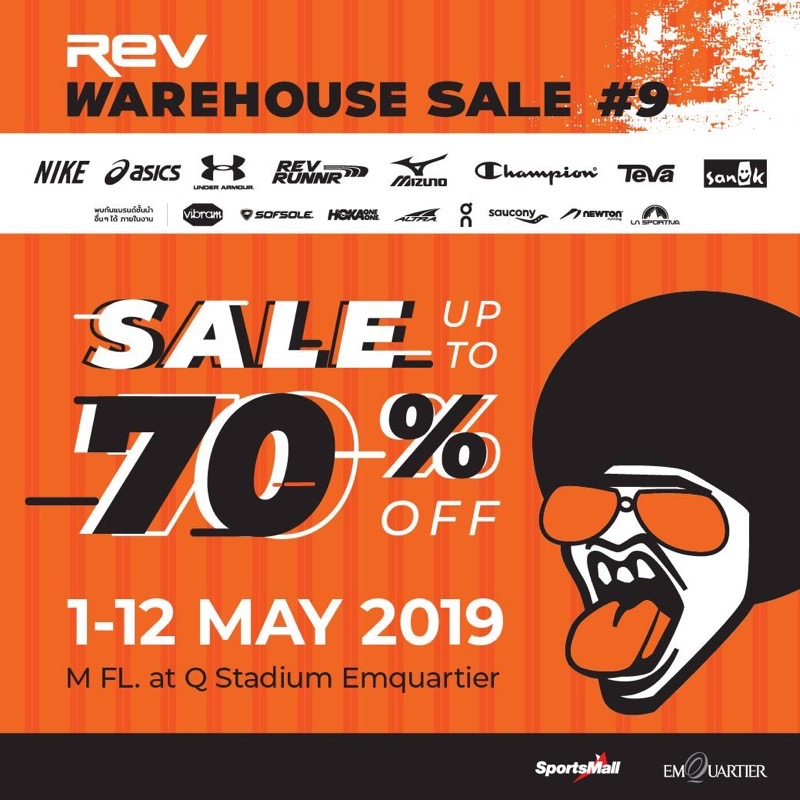 Promotion REV WAREHOUSE SALE 9 up to 70 Off May 2019 P014
