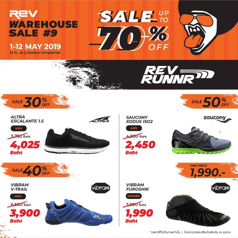 Promotion REV WAREHOUSE SALE 9 up to 70 Off May 2019 P04
