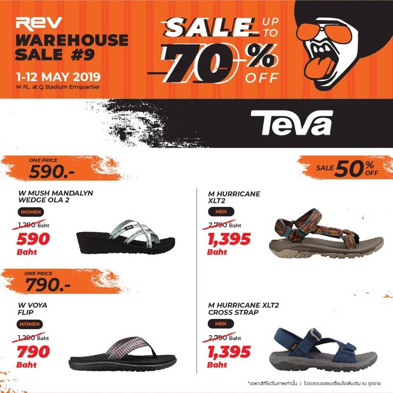 Promotion REV WAREHOUSE SALE 9 up to 70 Off May 2019 P05