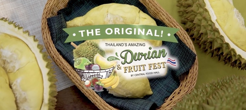 The Original Thailand s Amazing Durian  Fruit Fest 2019 FULL