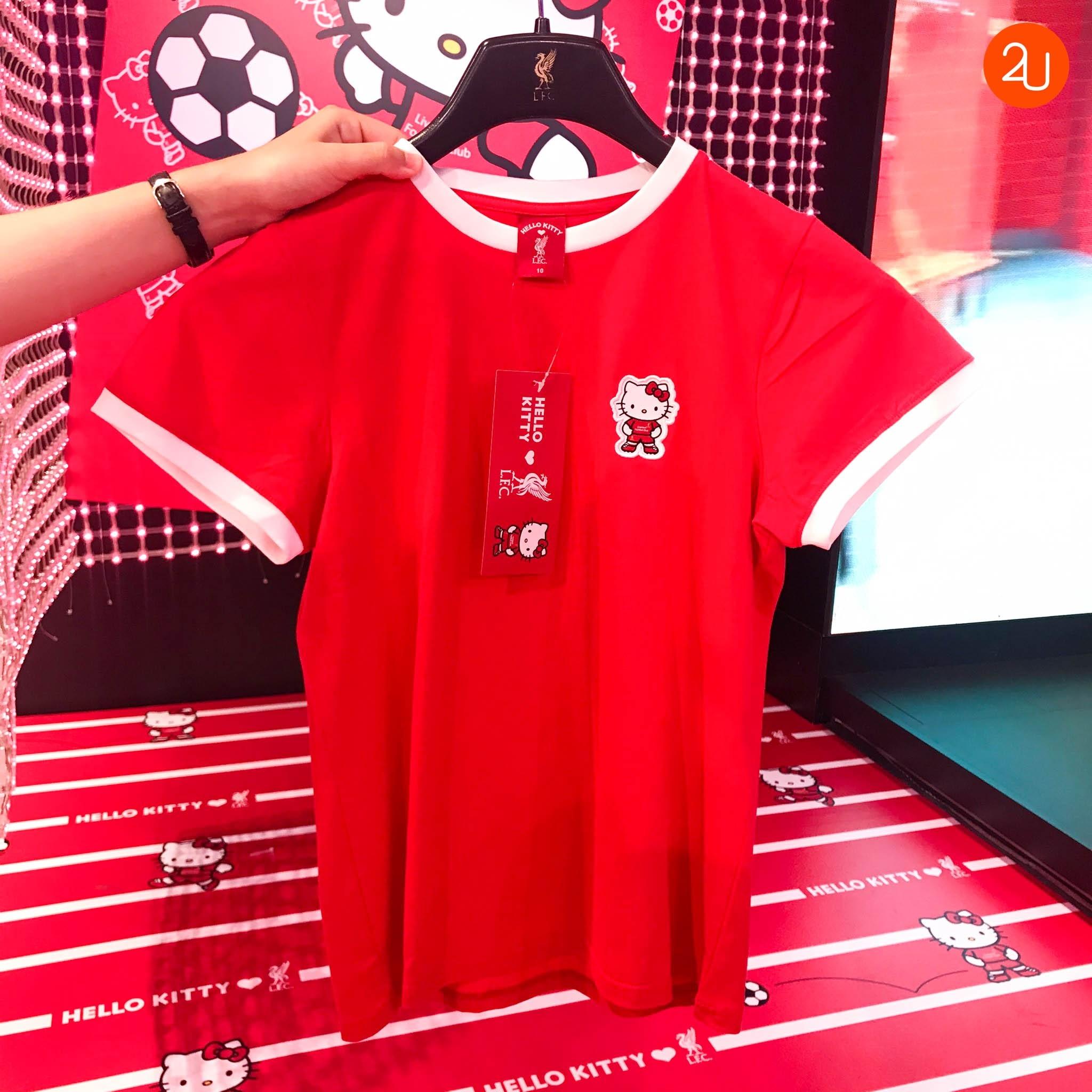 LFC Womens Hello Kitty Red Tee