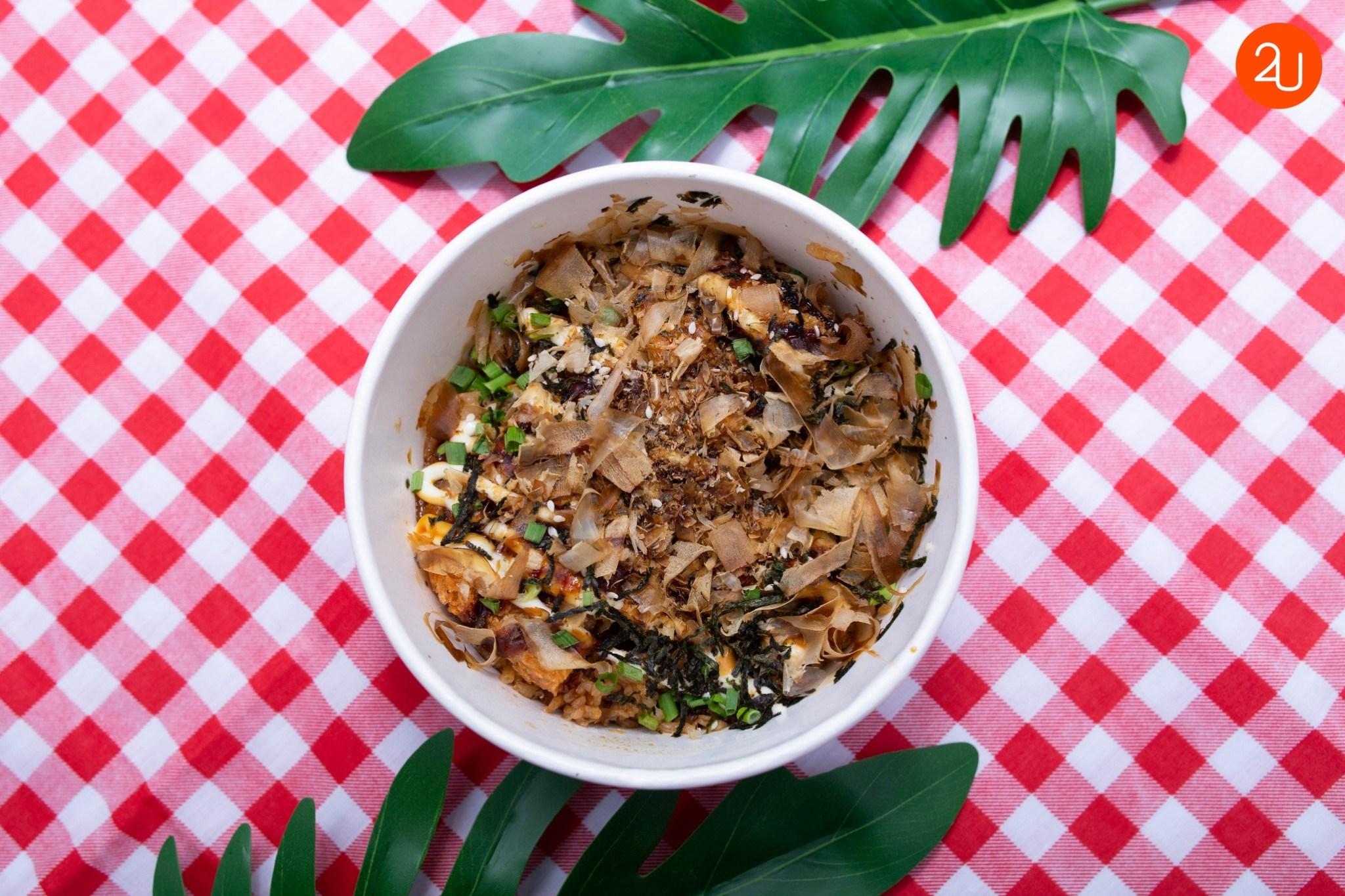 Tonkatsu rice bowl (2)