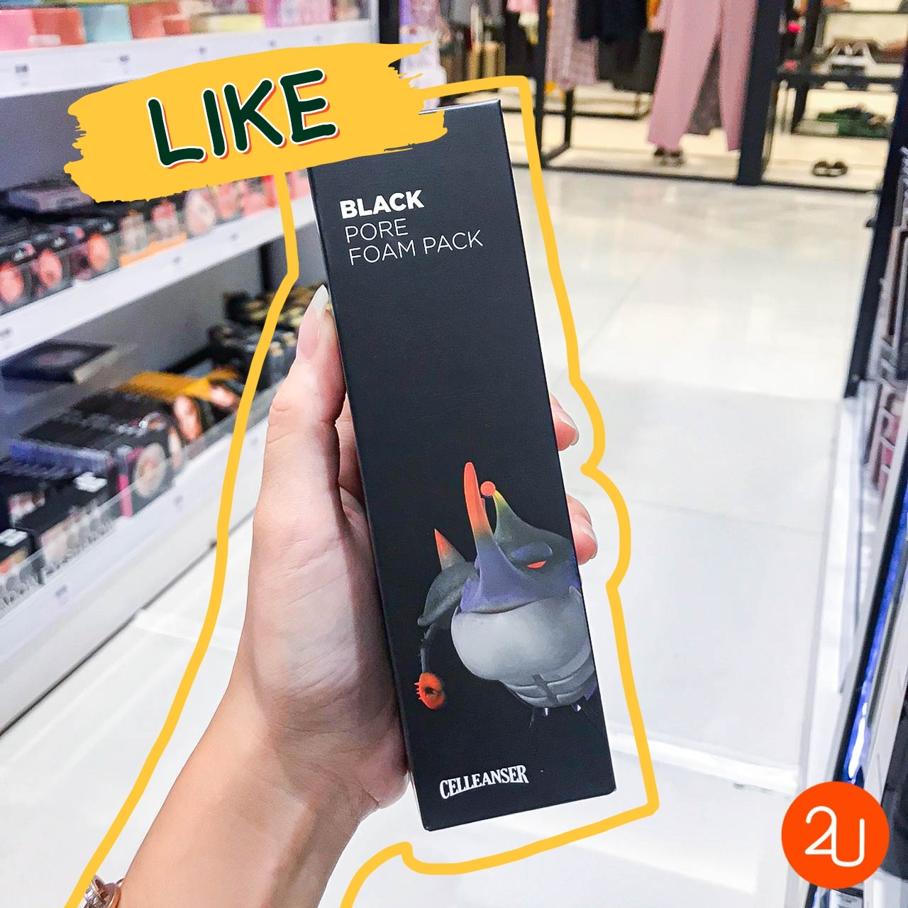 Black Pore Foam Pack