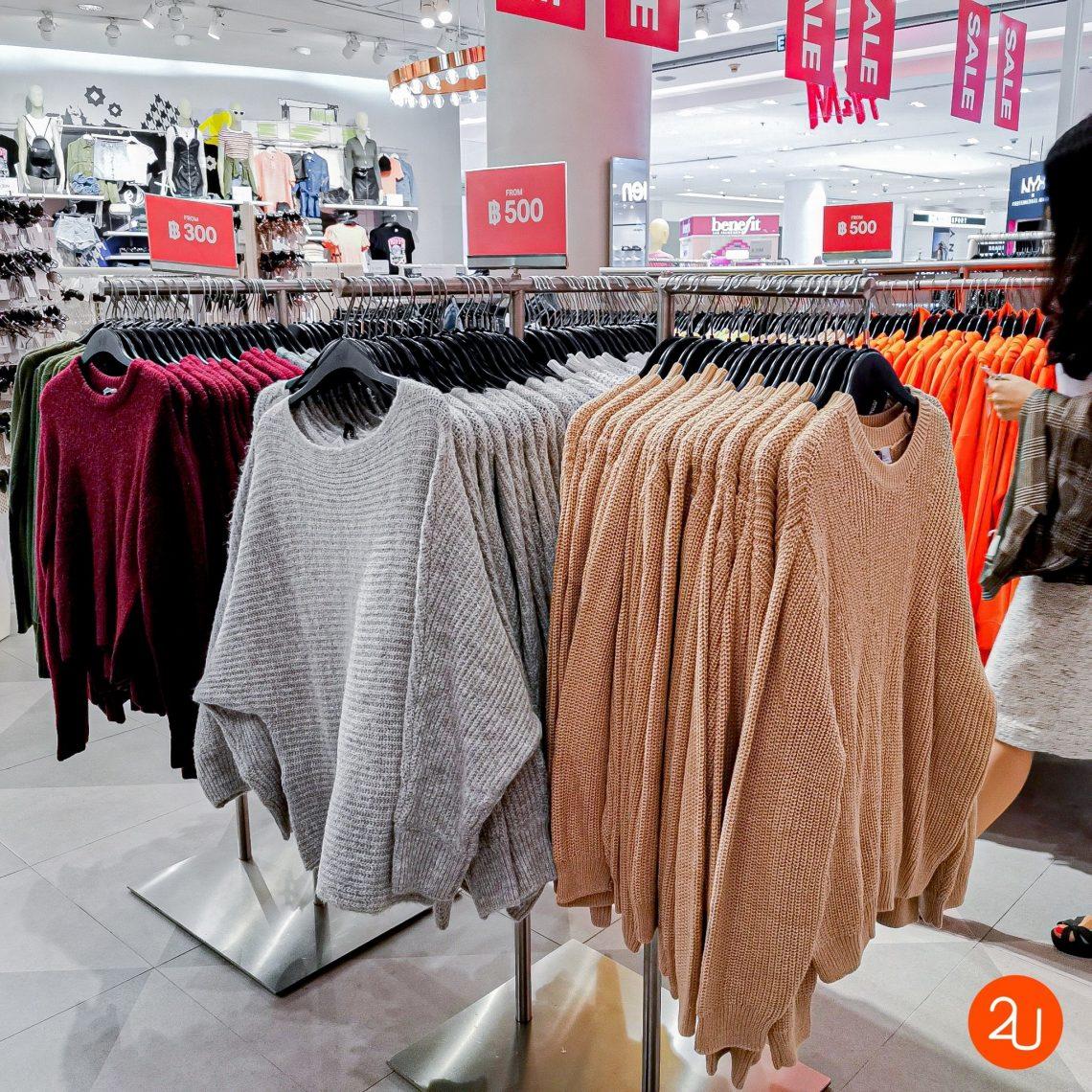 Promotion H&M MID SEASON sale 50