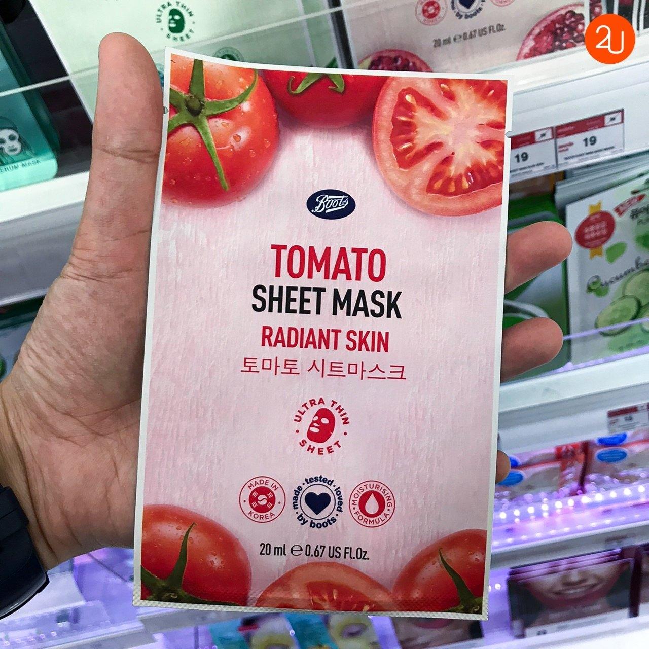 Tomato Sheet Mask