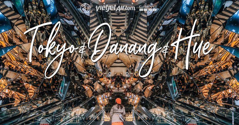 VietJetAir FlyforLove Da Nang to Tokyo