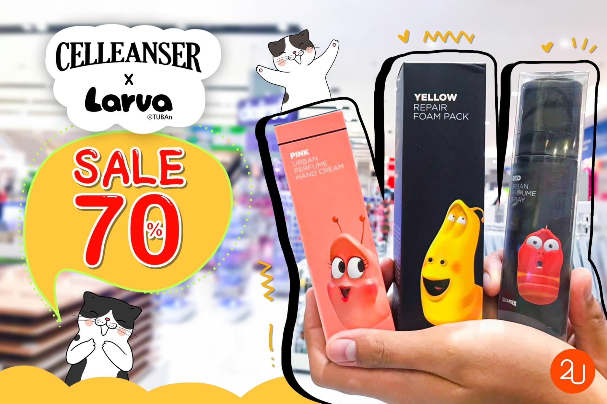 promotion Celleanser x Larva sale 70
